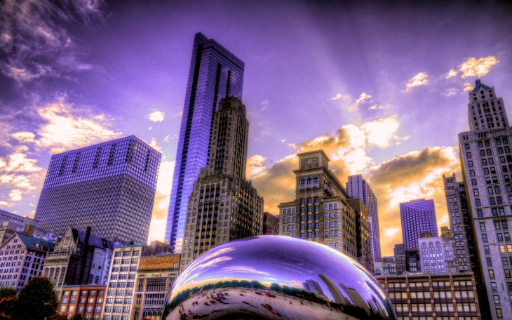 The Bean & Millenium Park